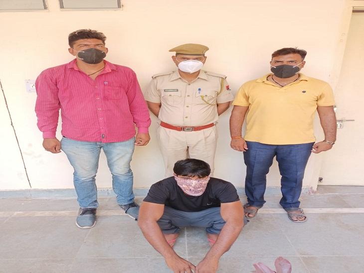 2013 छात्रसंघ चुनाव में हिंसा भडकाने व उपद्रव में शामिल आरोपी गिरफ्तार, आठ साल से चल रहा था फरार दौसा,Dausa - Dainik Bhaskar