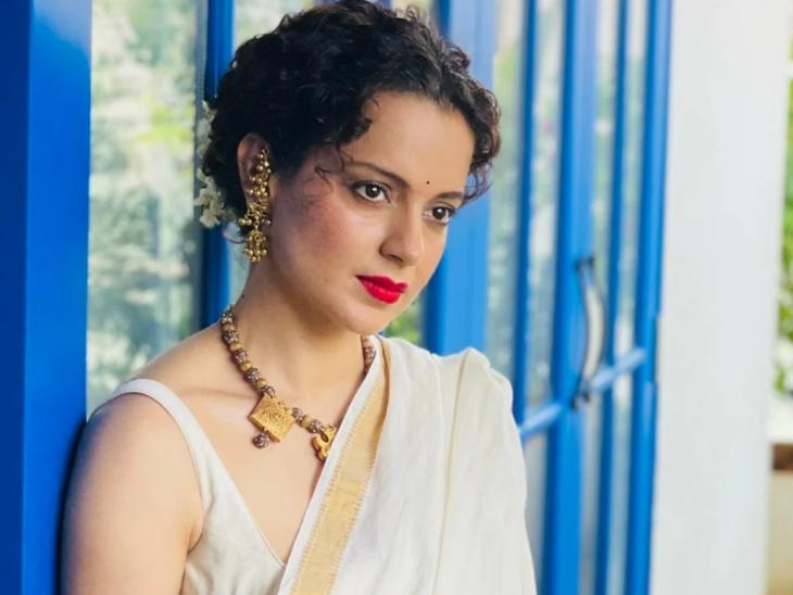 सोशल मीडिया ट्रोलर ने कहा संघी महिलाएं हॉट नहीं होतीं, कंगना रनोट ने ग्लैमरस फोटो शेयर कर लिखा- जरा मेरा कप तो पकड़िए|बॉलीवुड,Bollywood - Dainik Bhaskar