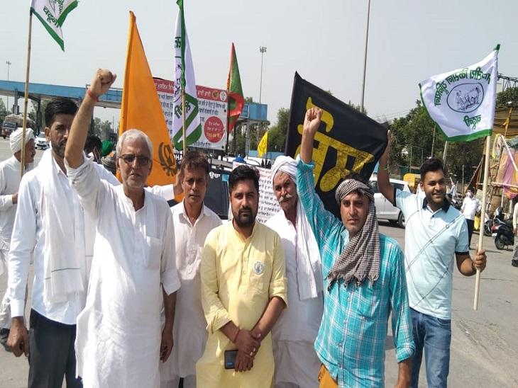 पानीपत से किसान आज करेंगे दिल्ली कूच, 25 हजार किसानों के शामिल होने का दावा पानीपत,Panipat - Dainik Bhaskar