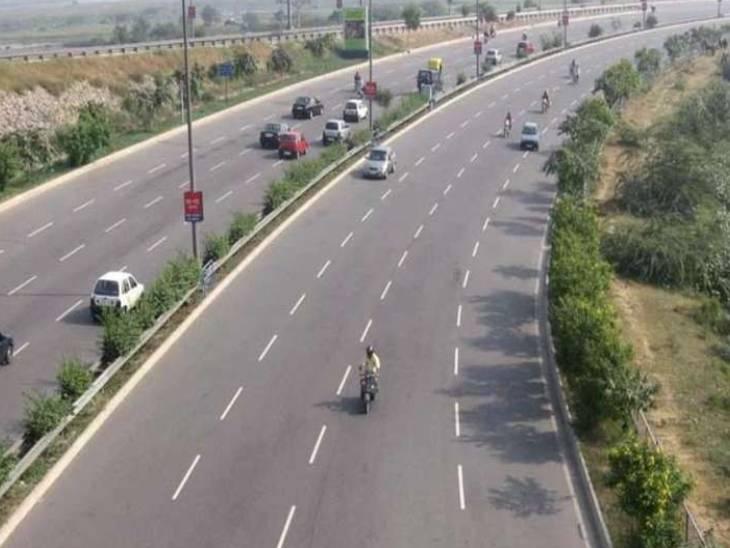 106 किमी की दो सड़कें 7 मीटर होंगी चौड़ीं, मिल्कीपुर से लखनऊ की दूरी 40 किमी कम होगी|अयोध्या,Ayodhya - Dainik Bhaskar