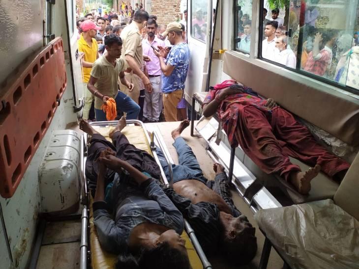 बिजनौर में पुलिस उत्पीड़न से तंग मां, बाप और बहन ने खाया जहर, गंभीर हालत में मेरठ रेफर मेरठ,Meerut - Dainik Bhaskar