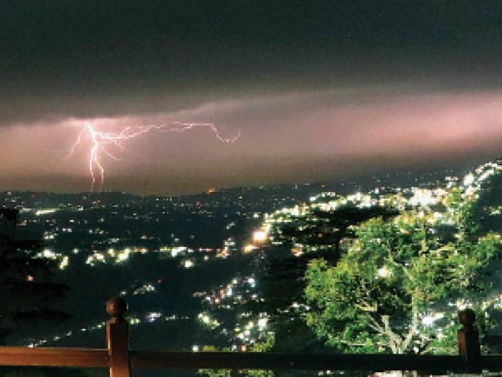 8 साल बाद ऊना का न्यूनतम तापमान 310, प्रदेश में 13 तक बारिश का अलर्ट|शिमला,Shimla - Dainik Bhaskar