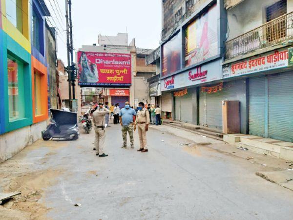 3 महीने में 45 करोड़ का नुकसान शहर के 4 कपड़ा बाजार को ही इंदौर,Indore - Dainik Bhaskar