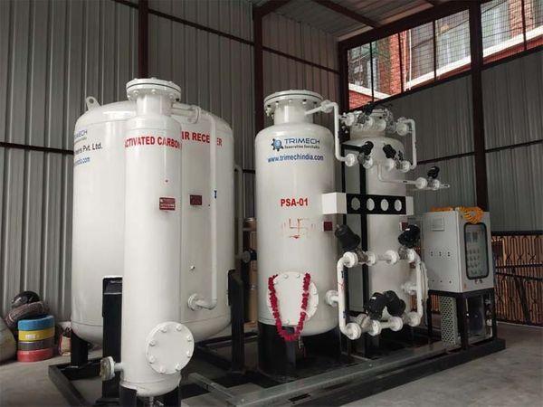 इंदौर के 35 अस्पतालों में ऑक्सीजन प्लांट लगेंगे पांच में तैयार भी हो चुके|इंदौर,Indore - Dainik Bhaskar