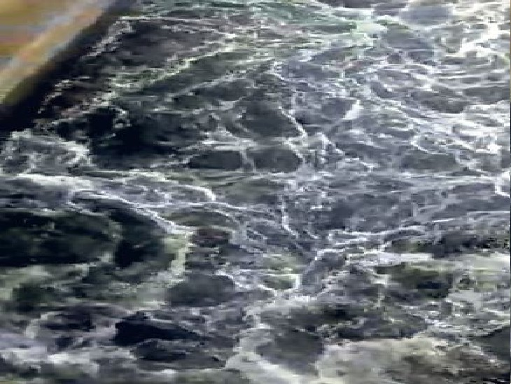 हरिके बैराज से निकला था काला पानी। (फाइल फोटो) - Dainik Bhaskar