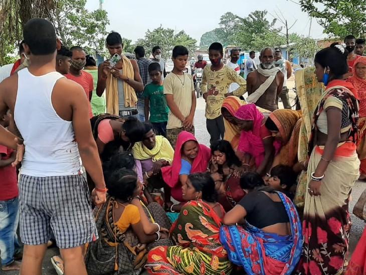 दो बाइक से आए 6 अपराधी; दुकानदार के सिर और पेट पर दागी गोलियां, 30 जून को तय थी शादी|मुंगेर,Munger - Dainik Bhaskar