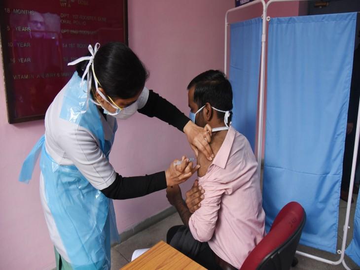 45+ के काेटे से 18+ के ग्रुप काे लगेगी वैक्सीन;गुरुवार को मिले 66 मरीज,दो ने संक्रमण से तोड़ा दम|चंडीगढ़,Chandigarh - Dainik Bhaskar