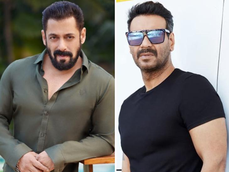 अगले महीने दो बड़े बजट की फिल्मों का एलान करेंगे सलमान खान, अजय देवगन की वेब सीरीज 'रूद्र' भी फ्लोर पर आएगी बॉलीवुड,Bollywood - Dainik Bhaskar