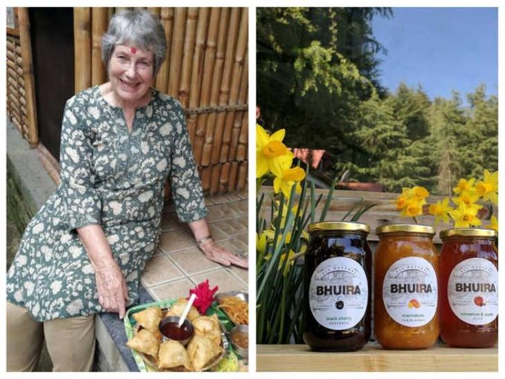 हिमाचल प्रदेश के भौरा गांव में 79 वर्षीय ब्रिटिश इंडियन वुमन लिनेट अलफ्रे की फैक्ट्री का टर्नओवर 2 करोड़, यहां मां की बताई रेसिपी से रोज 850 बॉटल जैम तैयार होता है|लाइफस्टाइल,Lifestyle - Dainik Bhaskar
