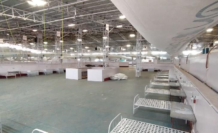कोरोना की दूसरी लहर का प्रकोप कम होते ही घटी बीना के अस्थाई कोविड अस्पताल में बेडों की संख्या, अब तक 200 पलंग तैयार|सागर,Sagar - Dainik Bhaskar