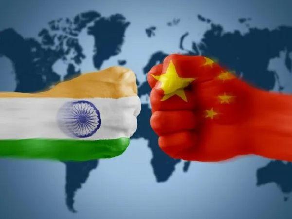 विदेश मंत्रालय के प्रवक्ता अरिंदम बागची ने गुरुवार काे भारत और चीन के बीच सैन्य और राजनयिक बातचीत के पिछले चरणों का मीडिया के सामने उल्लेख किया। - Dainik Bhaskar