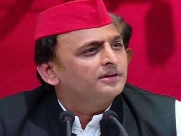 अखिलेश यादव ने यूपी की योगी सरकार पर हमला किया। - Dainik Bhaskar