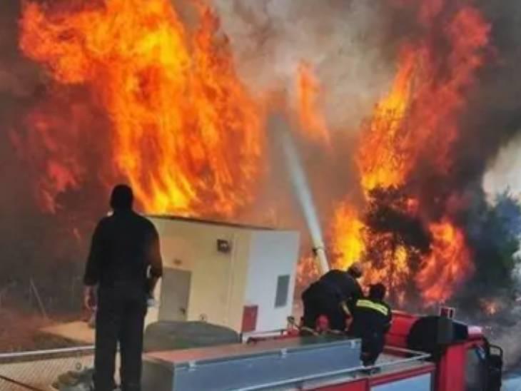 लखनऊ के 10 बड़े बाजारों की 18 हजार दुकानों में हर समय आग का खतरा; गलियां इतनी तंग कि छोटी कार भी नहीं जा सकतीं|लखनऊ,Lucknow - Dainik Bhaskar