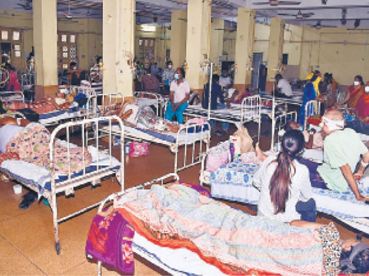 मेडिकल कॉलेज में अब तक 127 ब्लैक फंगस के एक्टिव केस, 17 मरीजाें की मौत. 51 हुए डिस्चार्ज, 200 से ज्यादा एंडोस्कोपी। - Dainik Bhaskar