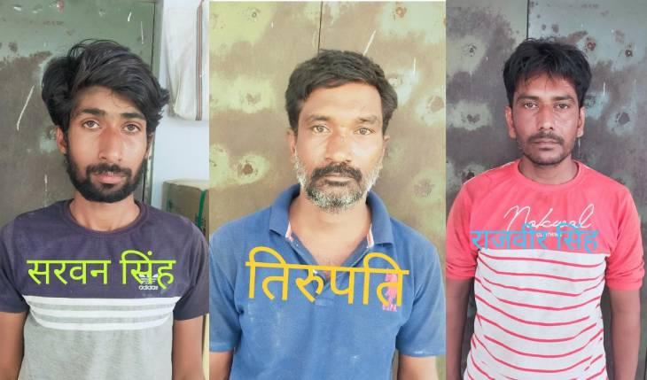मिर्जापुर में एसटीएफने उड़ीसा से आए तीन गांजा तस्करों को किया गिरफ्तार, एक करोड़ का गांजा और कैश बरामद वाराणसी,Varanasi - Dainik Bhaskar
