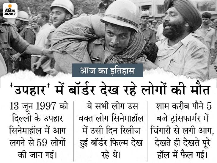 24 साल पहले आज ही के दिन दिल्ली के सिनेमाहॉल में आग लगने से फिल्म देखते हुए मारे गए थे 59 लोग|देश,National - Dainik Bhaskar