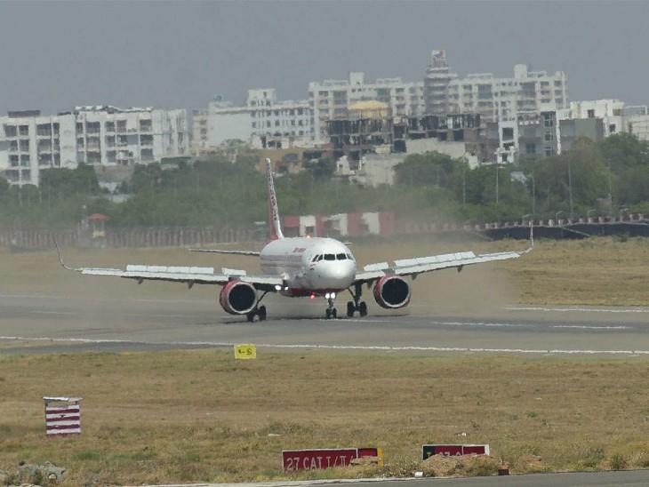 अब टॉय गन ही नहीं स्केरी डिवाइस से भी एयरपोर्ट पर रोके जाएंगे बर्ड हिट, ताकि रनवे पर बर्ड हिटिंग की समस्या को रोका जा सके|जयपुर,Jaipur - Dainik Bhaskar