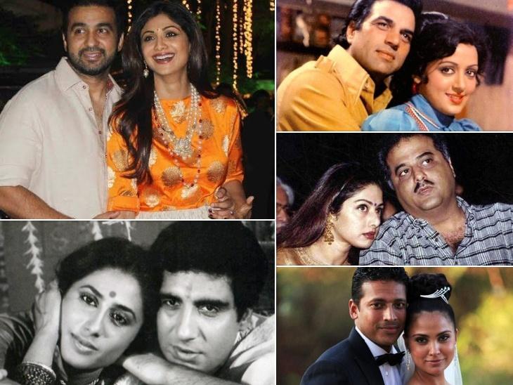 शिल्पा शेट्टी पर लगा राज कुंद्रा की पहली शादी तोड़कर घर बसाने का आरोप, ये बॉलीवुड एक्ट्रेस भी बन चुकी हैं होमब्रेकर बॉलीवुड,Bollywood - Dainik Bhaskar