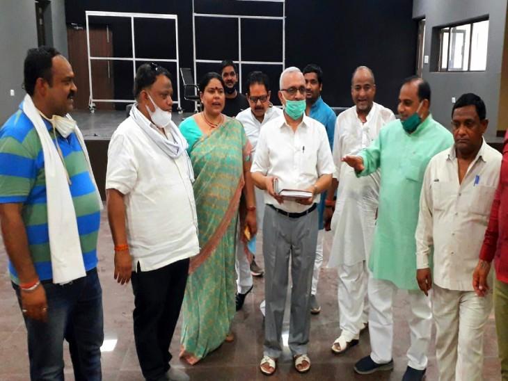 2022 विधानसभा चुनाव जीतने के लिए कार्यकर्ताओं को सुनील बंसल देंगे मंत्र, वृंदावन से फूंकेंगे चुनावी विगुल|मथुरा,Mathura - Dainik Bhaskar