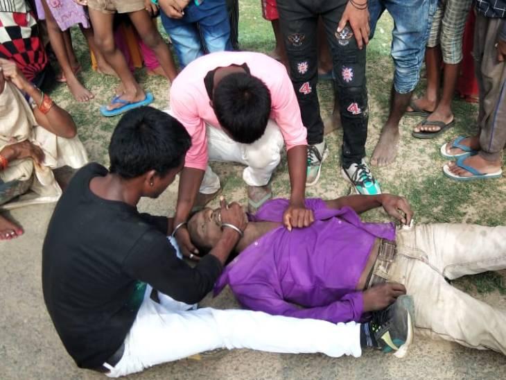 साले के बेटी की शादी में शामिल होने गए जीजा का बारातियों से हुआ झगड़ा, नदी में मिली लाश, पुलिस मान रही खुदकुशी, परिजन बोले, हत्या की गई प्रयागराज (इलाहाबाद),Prayagraj (Allahabad) - Dainik Bhaskar