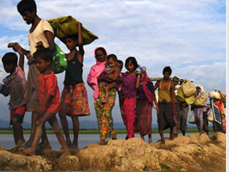 शहरों में बांग्लादेशीतो गांवों में रोहिंग्या बना रहे हैं ठिकाना। प्रदेश के बूचड़खाने हैं इन विदेशी नागरिकों के रोजगार का साधन।(प्रतीकात्मक फोटो) - Dainik Bhaskar