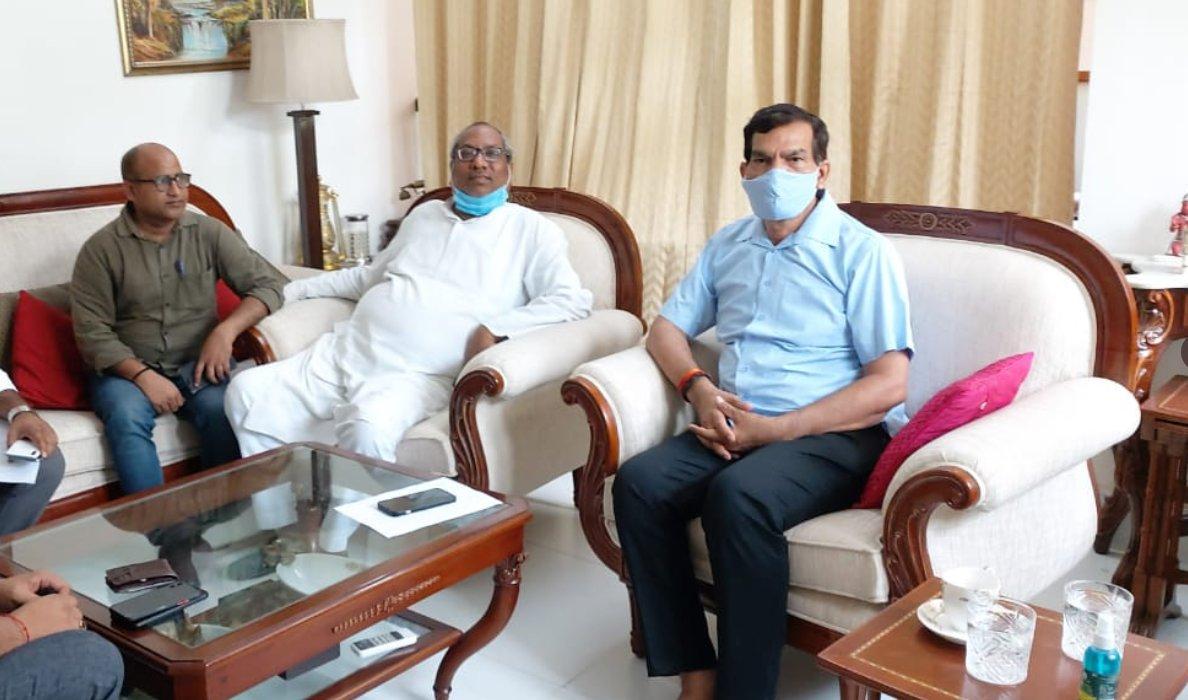 निषाद पार्टी के अध्यक्ष संजय ने अमित शाह से कैबिनेट मंत्री का पद मांगा, कहा- तभी वोट देंगे समाज के लोग लखनऊ,Lucknow - Dainik Bhaskar
