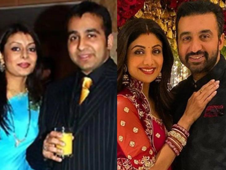 शिल्पा शेट्टी के पति राज कुंद्रा ने अपनी एक्स वाइफ को लेकर किया खुलासा, बोले- मेरी बहन के पति के साथ कविता का अफेयर चल रहा था बॉलीवुड,Bollywood - Dainik Bhaskar