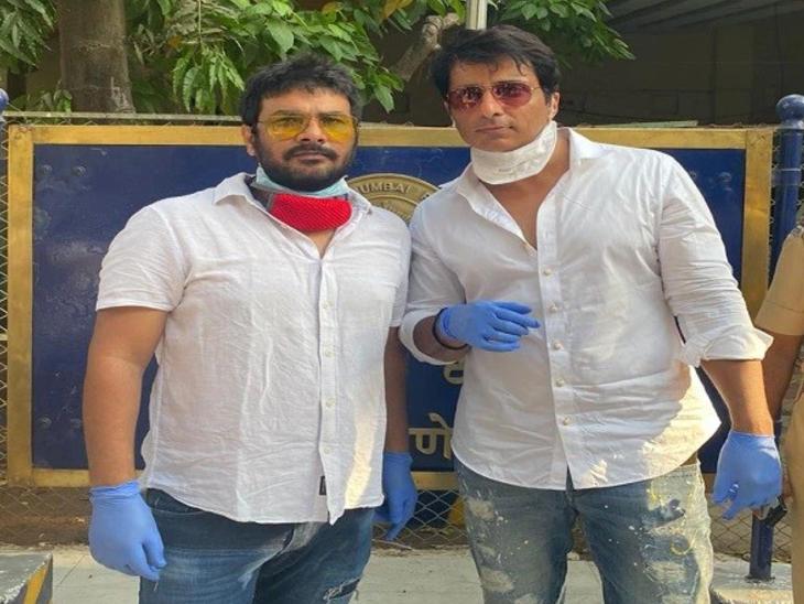 फिल्म मेकर अजय धामा महामारी में जरूरतमंद लोगों की कर रहे हैं मदद, बोले- सोनू सूद ने मुझे प्रेरित किया है|बॉलीवुड,Bollywood - Dainik Bhaskar