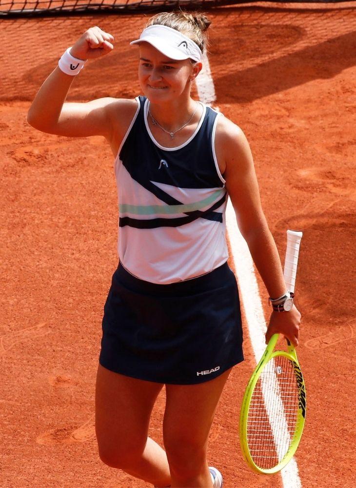 क्रेज्सिकोवा इससे पहले दो डबल्स खिताब जीत चुकी हैं।