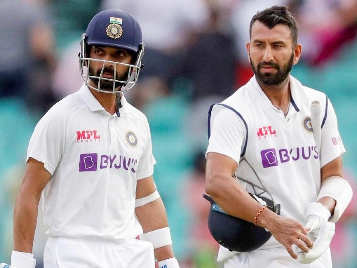 रहाणे ने कहा- सीधे बैट और शरीर के पास से बॉल खेलना फायदेमंद; पुजारा बोले- टीम इंडिया में चैंपियन बनने की काबिलियत|क्रिकेट,Cricket - Dainik Bhaskar
