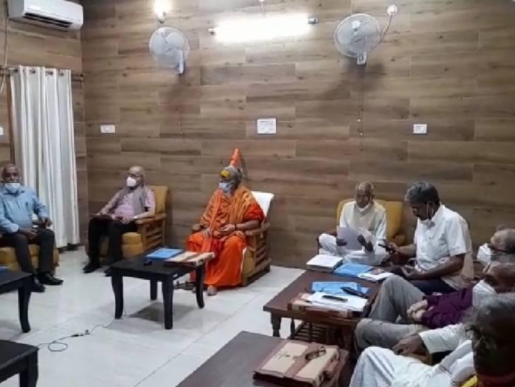 ट्रस्ट की बैठक में हुआ निर्णय, मंदिर के चबूतरे के लिए राजस्थान के बंसी पहाड़पुर से पत्थर मंगाने पर बनी सहमति लखनऊ,Lucknow - Dainik Bhaskar