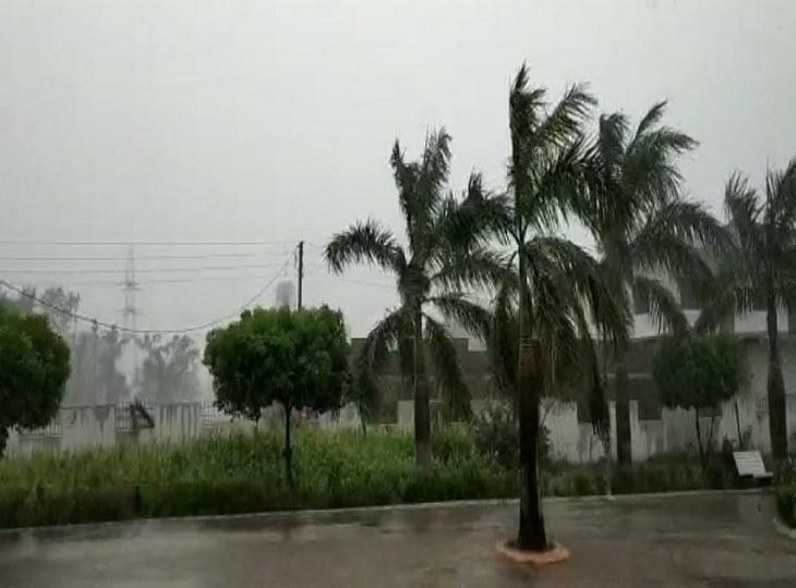 बस्तर के अधिकांश जिलों में हो रही झमाझम बारिश, कांकेर में अलर्ट तो वहीं कोंडागांव व नारायणपुर में होगी मध्यम से अधिक बारिश जगदलपुर,Jagdalpur - Dainik Bhaskar