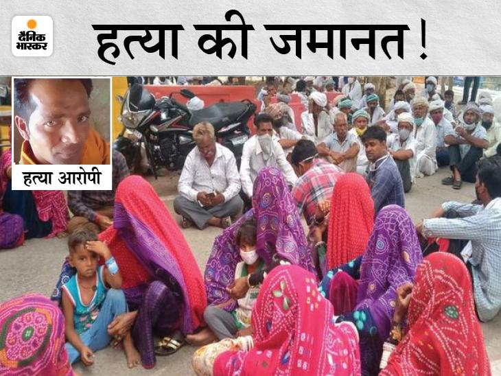 हत्या के बाद माइंस में जा छुपा आरोपी, 15 घंटे भूखा-प्यासा रहा तो निकला बाहर, पुलिस ने पकड़ा पाली,Pali - Dainik Bhaskar