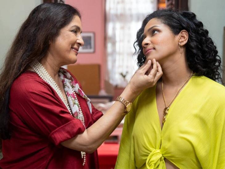 नीना गुप्ता बोलीं- बेटी मसाबा को पालने के लिए झाडू लगाने और बर्तन मांझने का काम भी करती, लेकिन किसी से पैसे नहीं मांगती|बॉलीवुड,Bollywood - Dainik Bhaskar