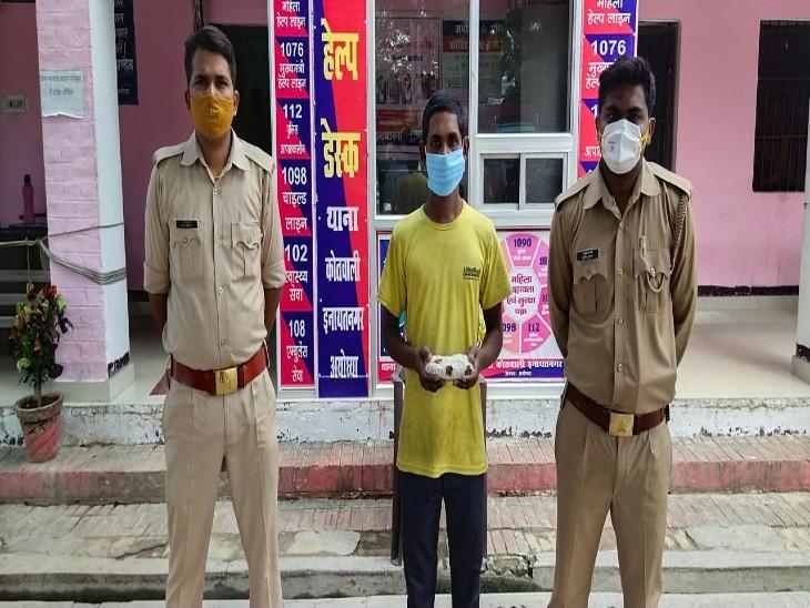 वांछित पति को पुलिस ने दबोचा, हत्या में प्रयुक्त रस्सी बरामद; अभी तक पोस्टमॉर्टम रिपोर्ट में मौत का कारण स्पष्ट नहीं अयोध्या,Ayodhya - Dainik Bhaskar