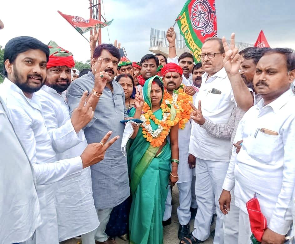 जिला पंचायत सदस्य की एकमात्र रिक्त सीट पर हुए चुनाव में सपा प्रत्याशी ने दर्ज की जीत, भाजपा दूसरे नंबर पर|वाराणसी,Varanasi - Dainik Bhaskar