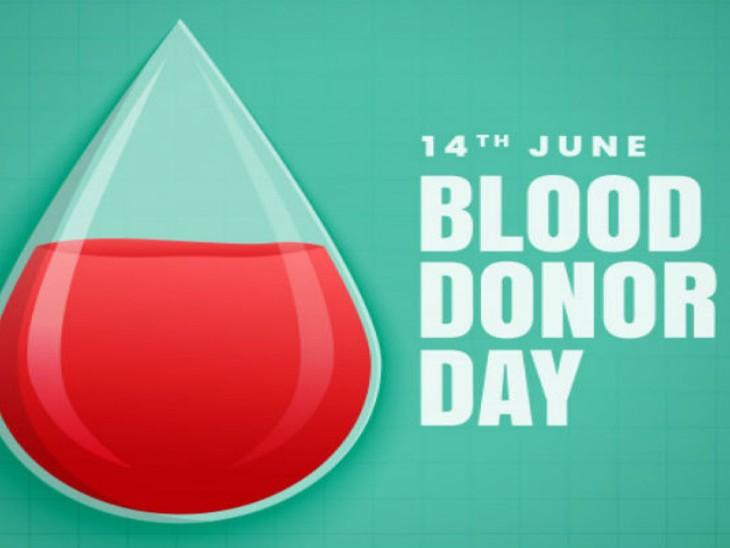 अमेरिका में वैक्सीनेशन के तुरंत बाद रक्तदान संभव, भारत में सुरक्षा को देखकर रखा गया 14 दिन का अंतर|दिल्ली + एनसीआर,Delhi + NCR - Dainik Bhaskar