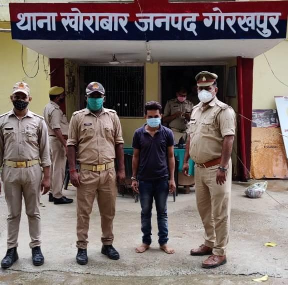 प्रापर्टी के हिस्सेदारी में भाई ने कराई बहन की हत्या, आरोपी को पुलिस ने किया गिरफ्तार गोरखपुर,Gorakhpur - Dainik Bhaskar