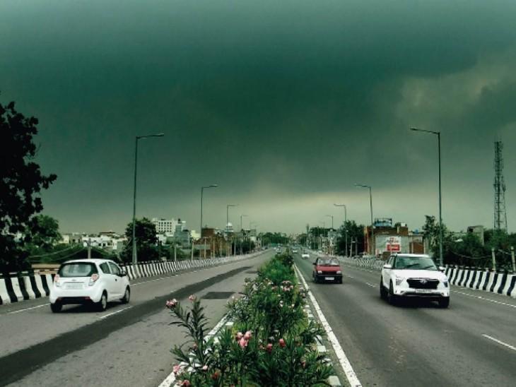 तस्वीर बठिंडा शहर की है। यहां मंगलवार की सुबह 11:20 बजे कुछ इस तरह का नजारा था।