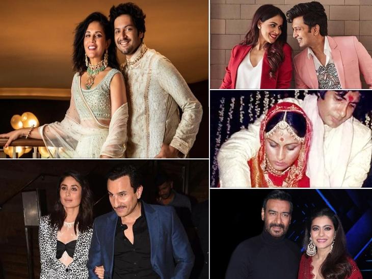 'फुकरे' फिल्म के सेट पर ऋचा चड्ढा को हुआ था अली फजल से प्यार, इन बॉलीवुड एक्टर्स को भी अपने को-स्टार्स में मिला जीवनसाथी बॉलीवुड,Bollywood - Dainik Bhaskar