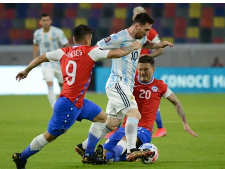 31 खिलाड़ी और अधिकारी सहित 10 होटल कर्मचारी कोरोना संक्रमित; अर्जेंटीना और चिली के बीच ड्रॉ स्पोर्ट्स,Sports - Dainik Bhaskar
