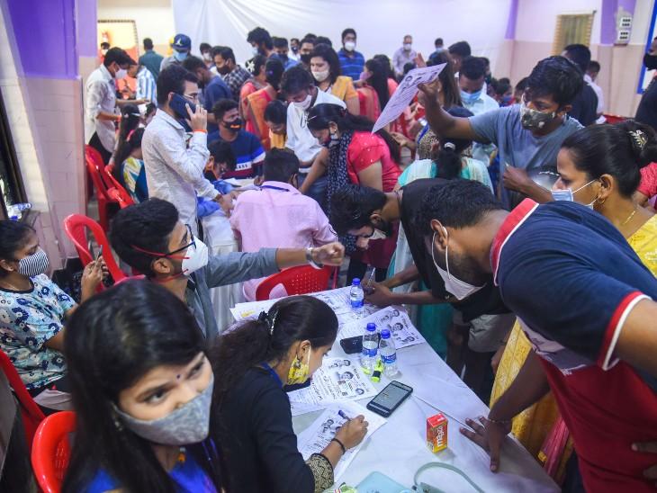 दूसरी लहर के पीक से नए केस 85% कम हुए, पॉजिटिविटी रेट में भी लगातार कमी|देश,National - Dainik Bhaskar
