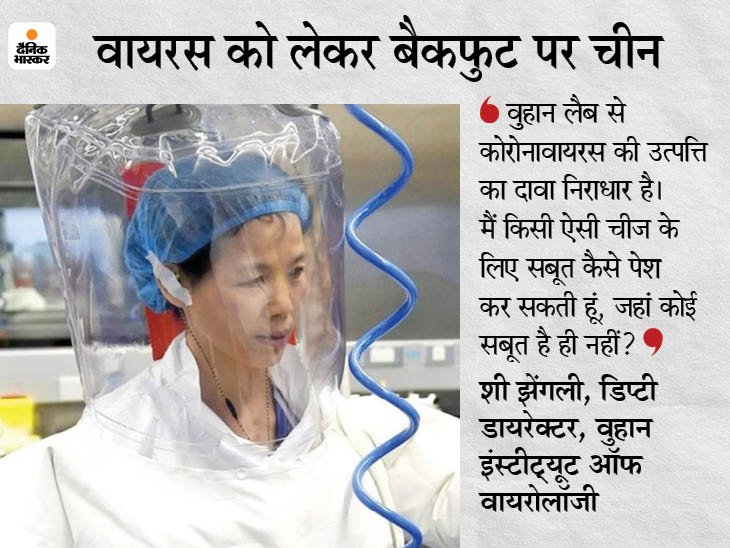 चीनी साइंटिस्ट ने कहा- निर्दोष वैज्ञानिकों पर कीचड़ उछाल रही दुनिया; वुहान लैब को लेकर अफवाहें फैलाई जा रहीं विदेश,International - Dainik Bhaskar