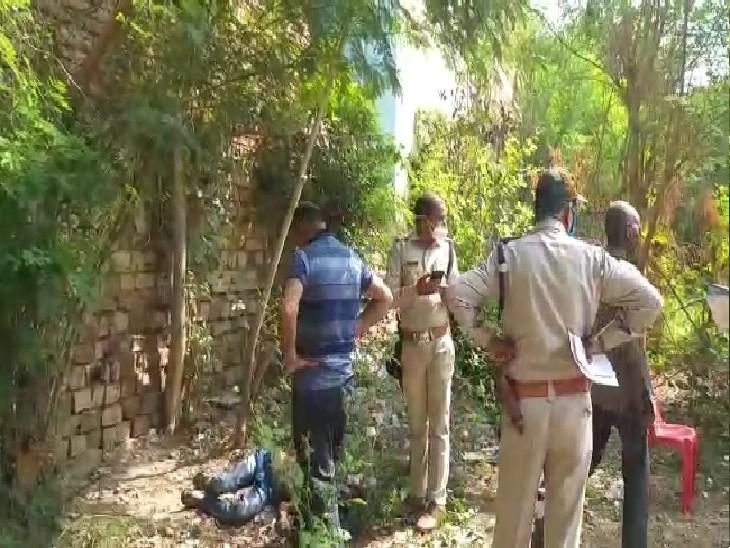 रात में घर से बुलाकर ले गए थे तीन से चार लड़के, सुबह झाड़ियों में मिला शव; 10 दिन पहले जेल से छूटा था ग्वालियर,Gwalior - Dainik Bhaskar
