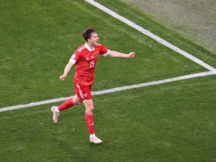 अलेक्सी के गोल से रूस की 1-0 से जीत, टीम की टूर्नामेंट में पहली जीत; फिनलैंड 109 साल से रशियन टीम को हरा नहीं सका स्पोर्ट्स,Sports - Dainik Bhaskar