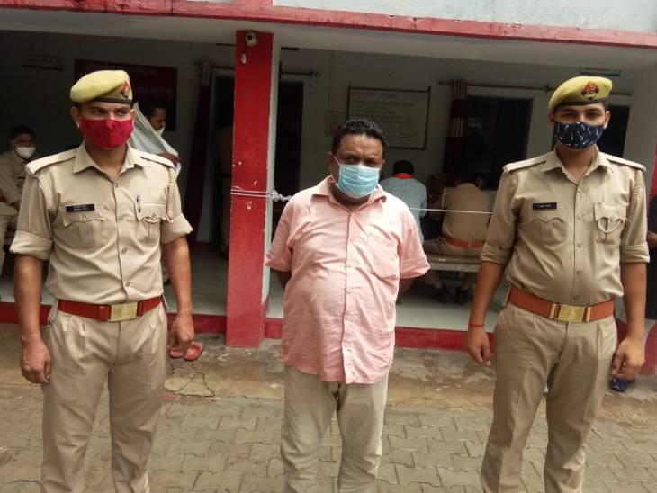 लैब असिस्टेंट क्लर्क एवं एफएस की नियुक्ति कराने के नाम पर रिटायर्ड फौजी समेत उनके आधा दर्जन रिश्तेदारों से 6-6 लाख रुपए ठगी के मामले में रिटायर्ड फौजी ने ठगी में शामिल एक अभियुक्त गिरफ्तार कर लिया गया है। - Dainik Bhaskar