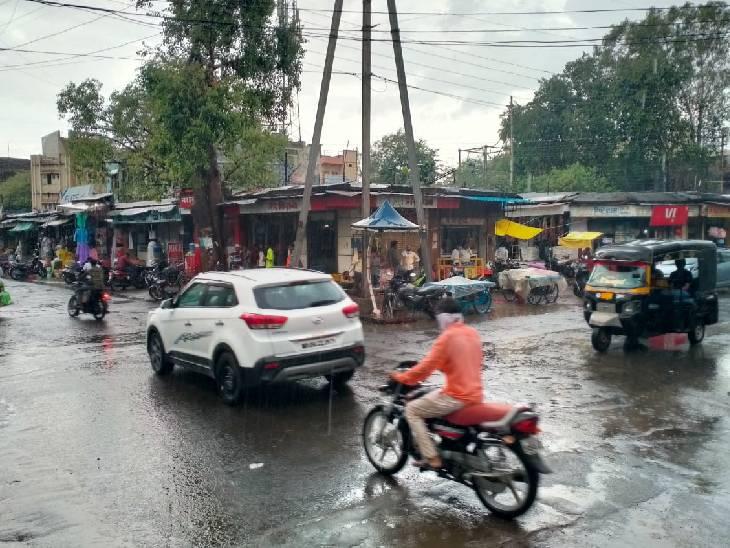 भोपाल, मुरैना और खंडवा में तेज बारिश; शहडोल संभाग में चेतावनी; इंदौर, ग्वालियर और सागर में अभी इंतजार|मध्य प्रदेश,Madhya Pradesh - Dainik Bhaskar