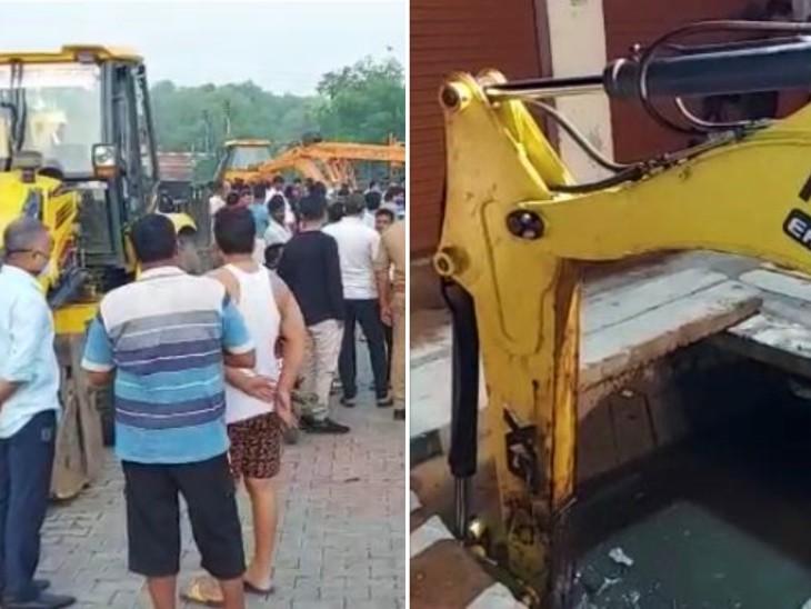 स्थानीय लोगों ने एक को सकुशल निकाला, 10 घंटे तक चले दमकल कर्मियों के रेस्क्यू ऑपरेशन के बाद 2 युवकों के शव बरामद|मथुरा,Mathura - Dainik Bhaskar