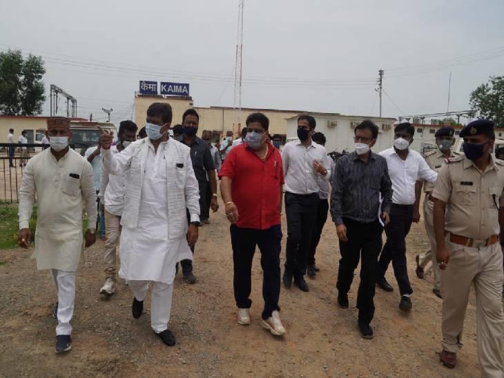 कैमा स्टेशन का निरीक्षण किया, कहा- प्लेटफार्म क्रमांक 2 का निर्माण कार्य जल्द पूरा करें रीवा,Rewa - Dainik Bhaskar