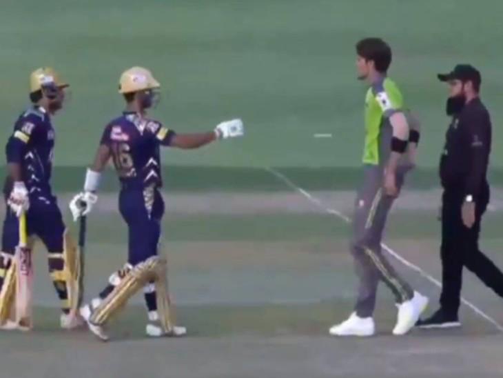 पूर्व कप्तान सरफराज और शाहीन अफरीदी के बीच झड़प; अंपायरों और लाहौर के कप्तान सोहेल अख्तर और सीनियर मोहम्मद हफीज ने दोनों खिलाड़ियों को अलग किया क्रिकेट,Cricket - Dainik Bhaskar